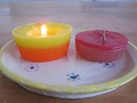 הכנת נרות חנוכה